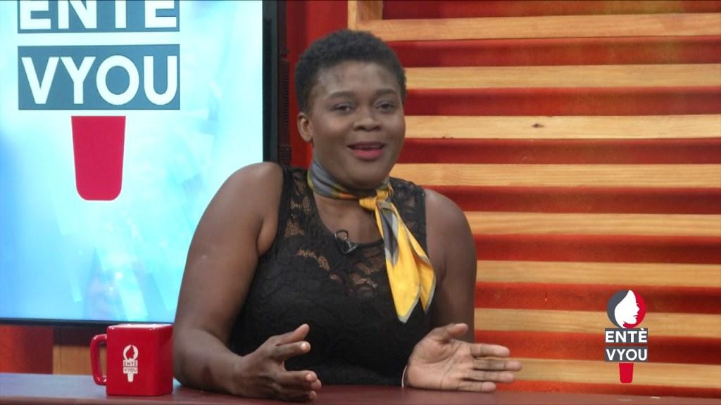 Soinette Désir invitée de l'émission «Entèvyou»