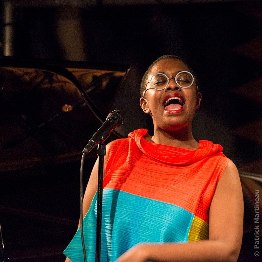 La chanteuse de Jazz Cécile Mc Lorin Salvant nommée au grade de chevalier de l'ordre des Arts et des Lettres
