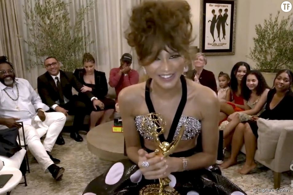 L'actrice Zendaya rentre dans l'Histoire des Emmy Awards