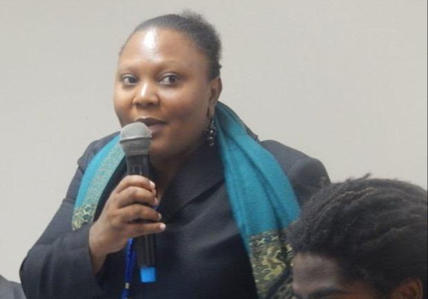 Guylande Mesadieu, présidente du nouveau CEP