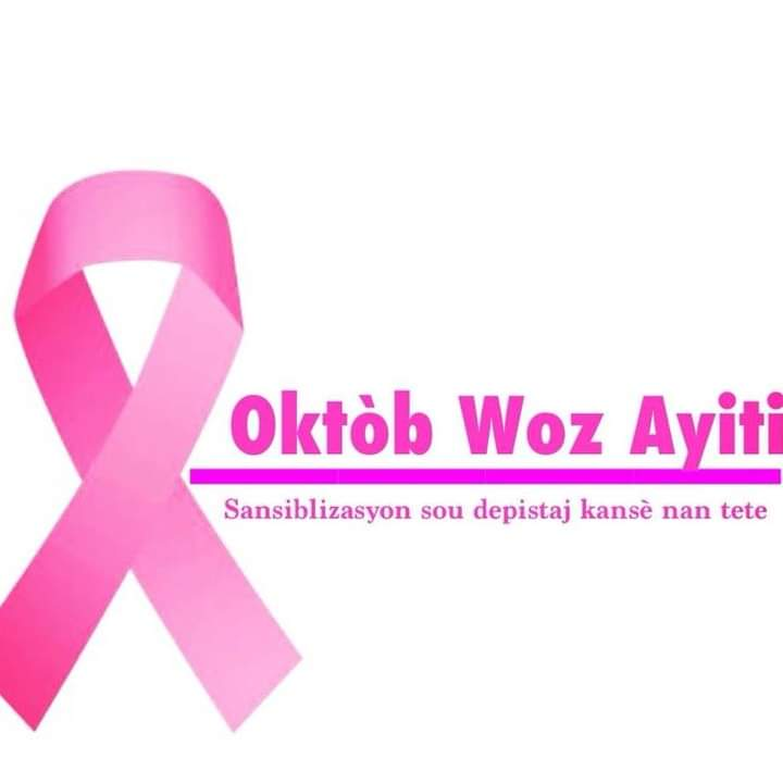 Mois du cancer du sein, Octobre Rose Haïti se mobilise