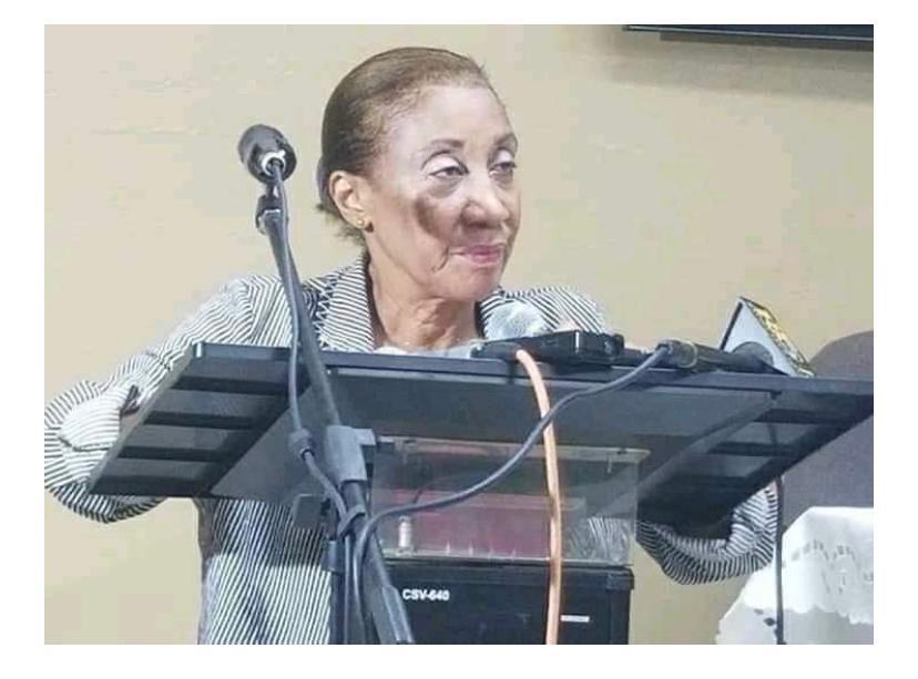 Marie Suzie Legros est la nouvelle Bâtonnière de l'ordre des avocats de Port-au-Prince