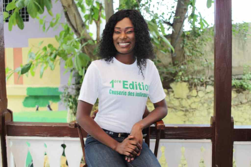 Clara Guillaume, une infirmière qui conjugue passion du métier et bien-être de ses pairs