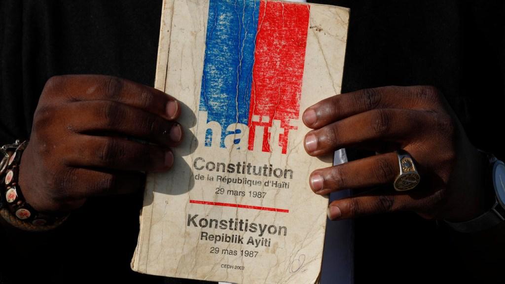 Le projet de la nouvelle constitution enfin prêt