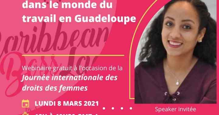 Carribean Boss Lady organise un Webinar gratuit sur l'équité Hommes-Femmes au travail