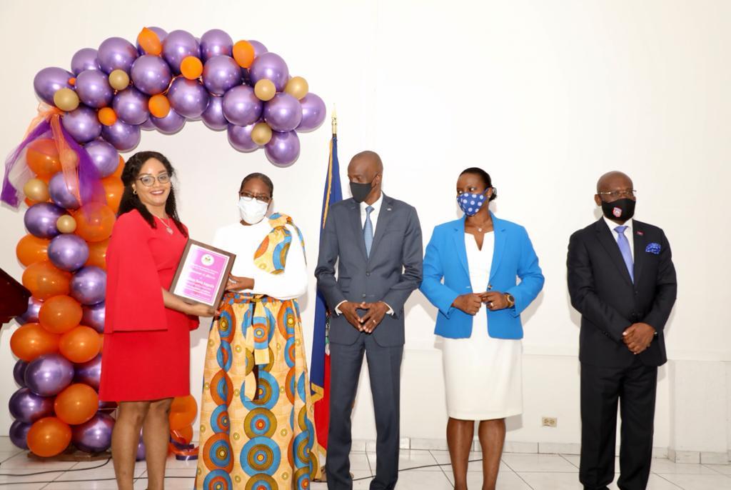 Martine Moise et 9 autres femmes honorées par le MCFDF