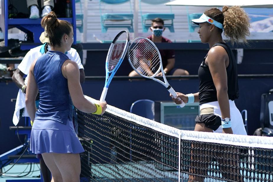 Naomi Osaka éliminée du tournoi de Miami