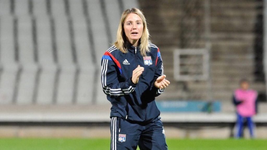 Sonia Bompastor, première femme à entraîner l'Olympique Lyonnais