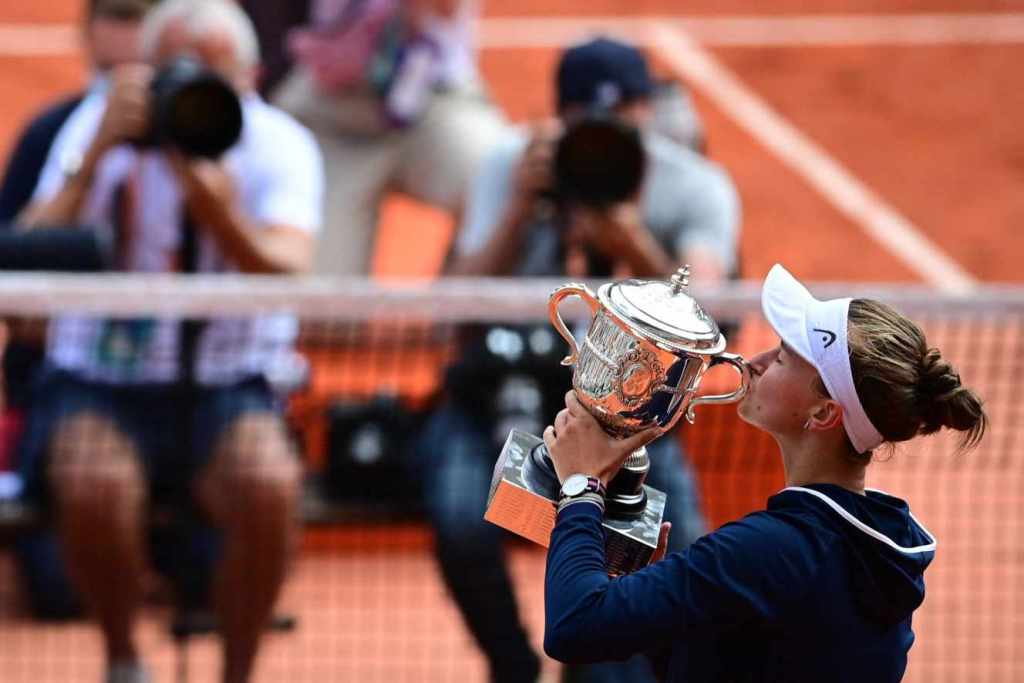 Barbora Krejcikova remporte son premier titre de Grand Chelem