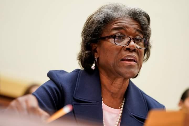 Déclaration à la presse au Cap-Haïtien de l'Ambassadeur Linda Thomas Greenfield, Ambassadeur des États-Unis auprès des Nations Unies