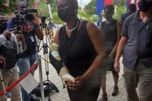 MUPANAH : cérémonie de salutation à Martine Moïse