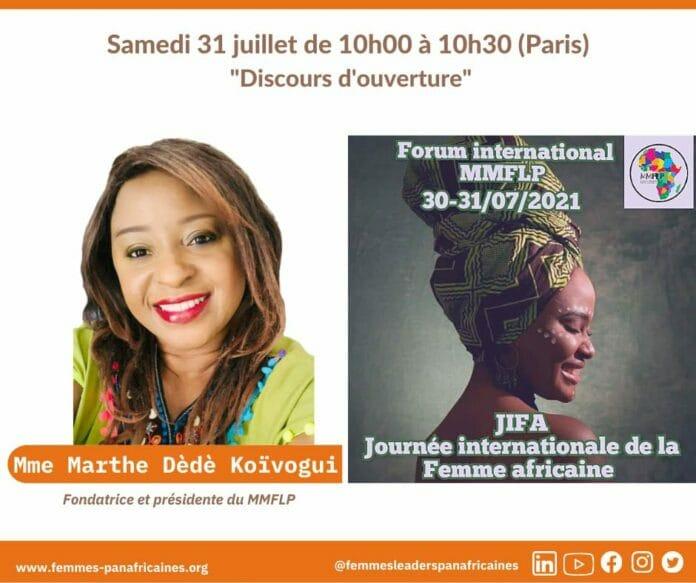 Et s'en vient un forum sur la Journée Internationale de la Femme Africaine
