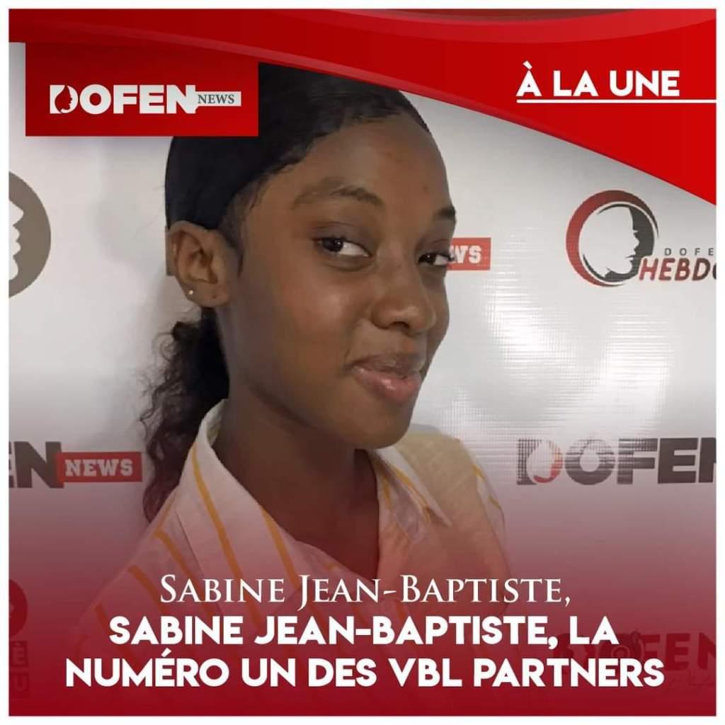 Sabine Jean Baptiste élue meilleure vendeuse de VBL Partners
