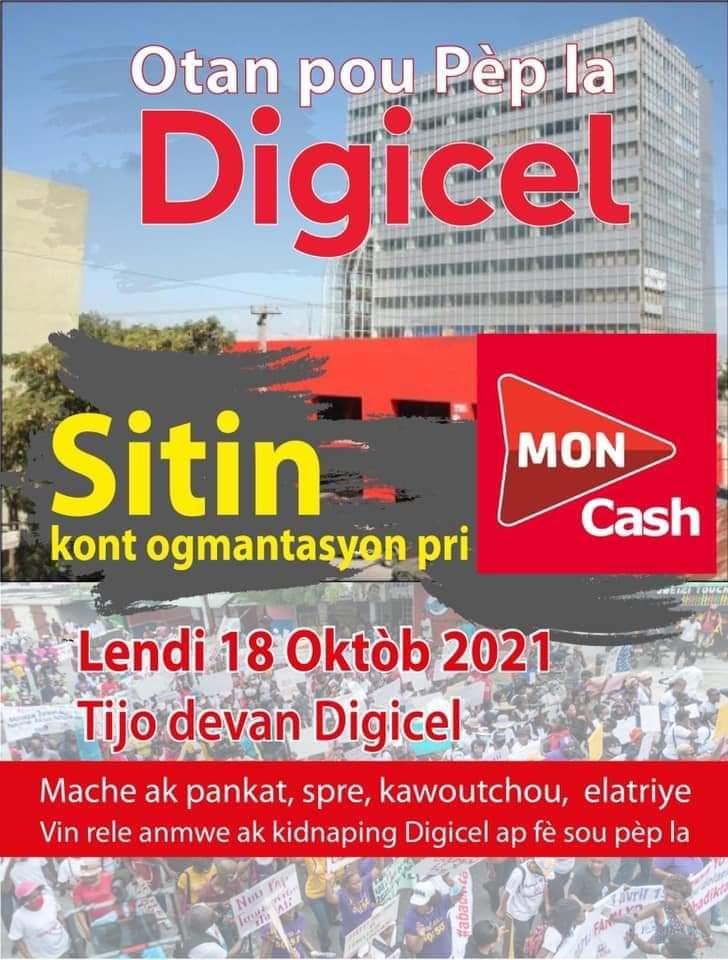 Pourquoi tout Haïti se lève contre la Digicel ?