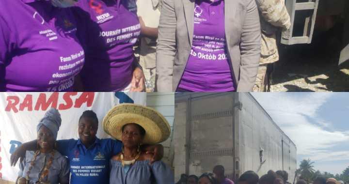 Une Journée internationale des femmes rurales sous le signe de la mobilisation
