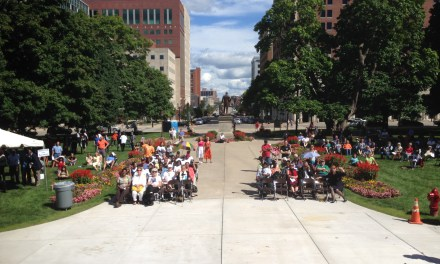 Hundreds attend prayer ceremony for life at StateCapitol