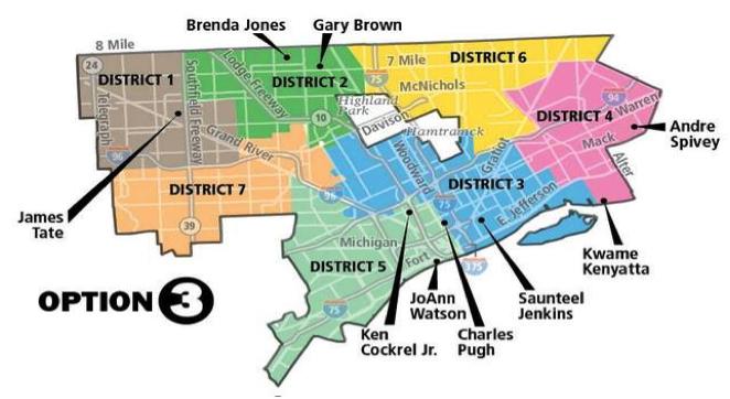 Detroit Local Regions