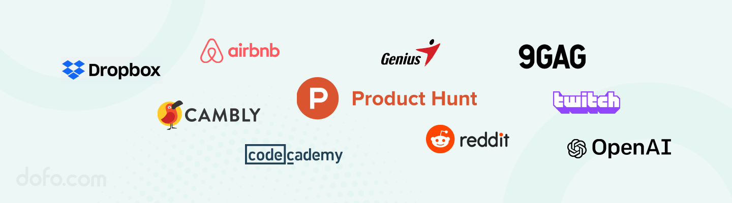 The companies funded by Y Combinator