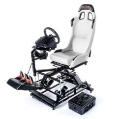 Hydraulic Racing Simulator Chair Kmart Bean Bag Chairs Australia Full Motion 2 3 6 Axis Platforms For Pc Home Flight And