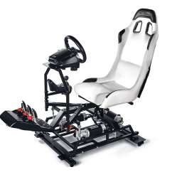 Flight Simulator Chair Motion Sure Fit Covers Walmart Full 2 3 6 Axis Platforms For Pc Home And P3 Is Professional Platform Public Entertainment Vr Arcade Centers Delivering Three Dimensional Movements Pitch Roll Yaw Rear