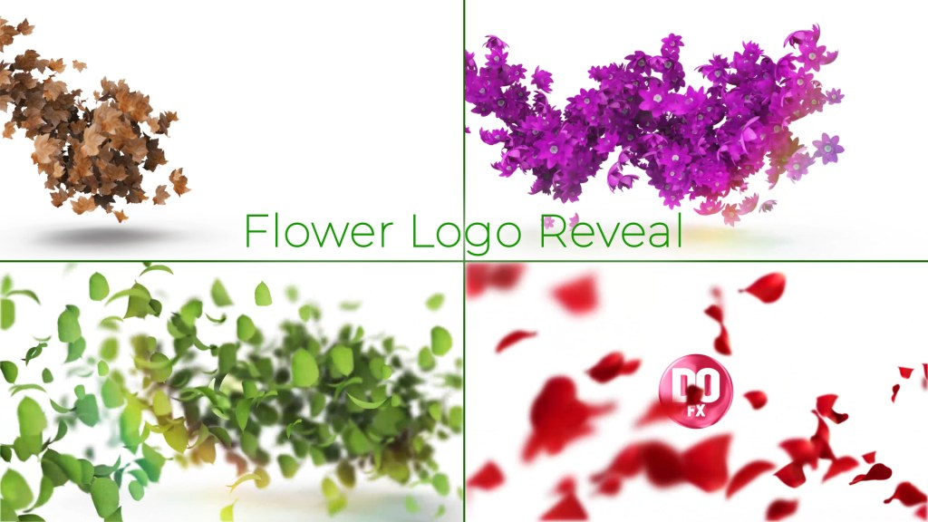 Flower Logo Reveal