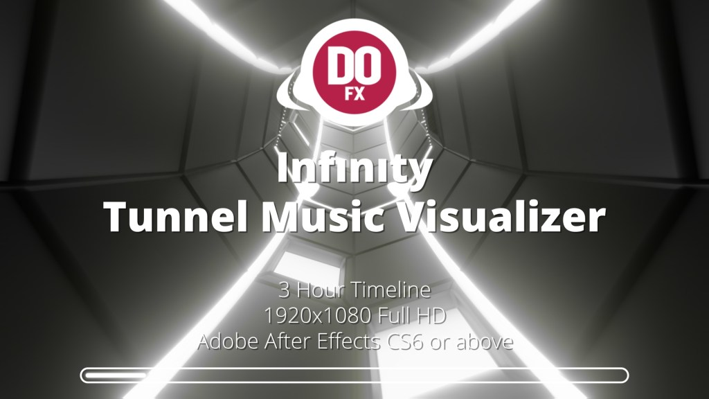 Infinity Tunnel Music Visualization