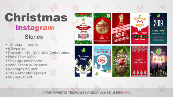 christmas stories on videohive
