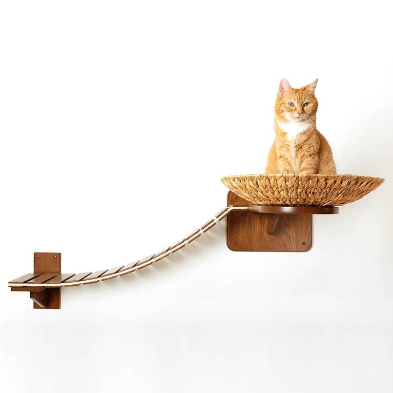 arbre a chat mural pour chat design