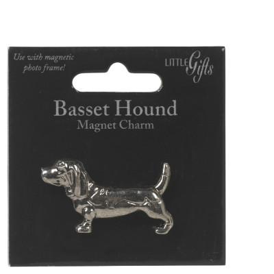 Little Gifts Basset Hound Magnet Charm