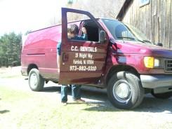 CC Rentals Cargo Van