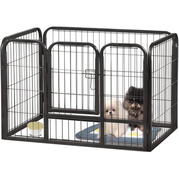 Foldable Metal Wire Dog Crate