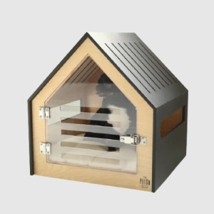 Modern Dog and Cat House With Acrylic Door