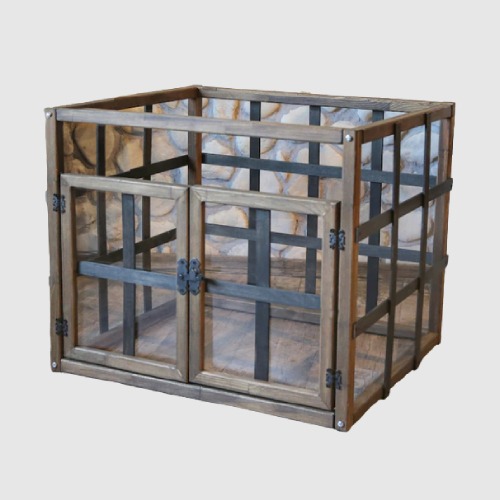 Wooden Dog Crate Sofa Bed