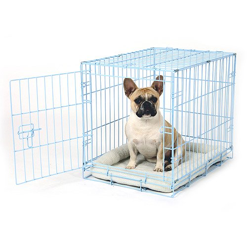 Carlson Pet Products Compact Deluxe Metal Dog Crate