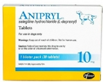 Package of Anipryl for dog with dementia