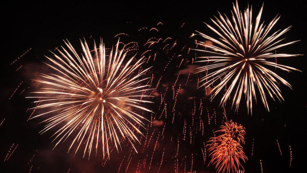 large fireworks