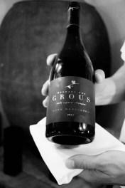 Uno de los vinos de Herdade dos Grous.