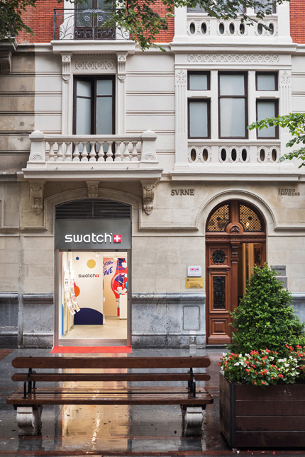 Nueva tienda Swatch en Bilbao.