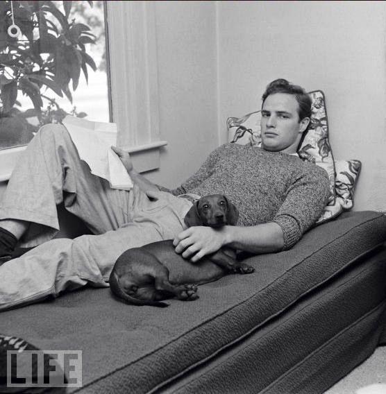 Marlon Brando para LIFE.