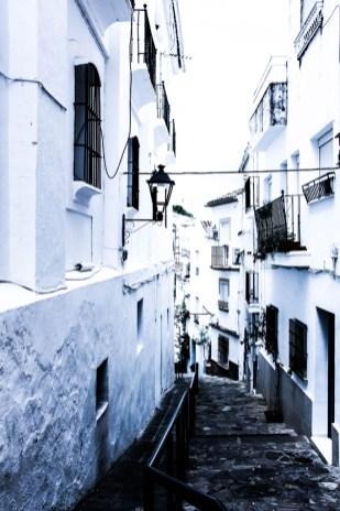 Casco Antiguo de Ubrique, declarado Bien de Interés Cultural.
