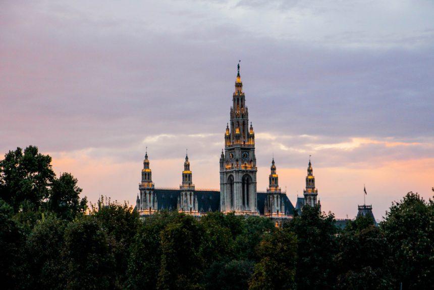 Ayuntamiento de Viena.
