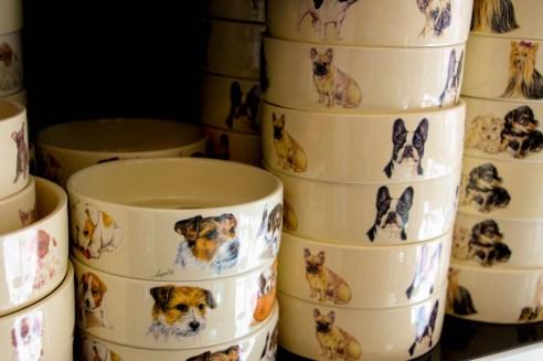 Bowls de cerámica holandesa (Animal Print).