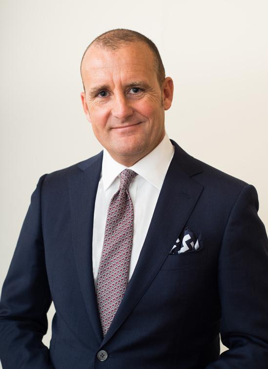 Luca Virgilio, director general del Hotel Edén.