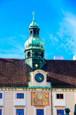 Palacio Imperial de Hofburg.