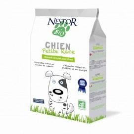 Croquetas 100% bio para perros pequeños NESTOR BIO 2 kg 17,50 €.