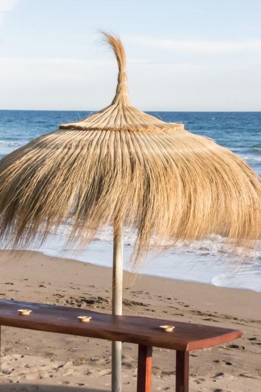 Chiringuito a pie de playa.