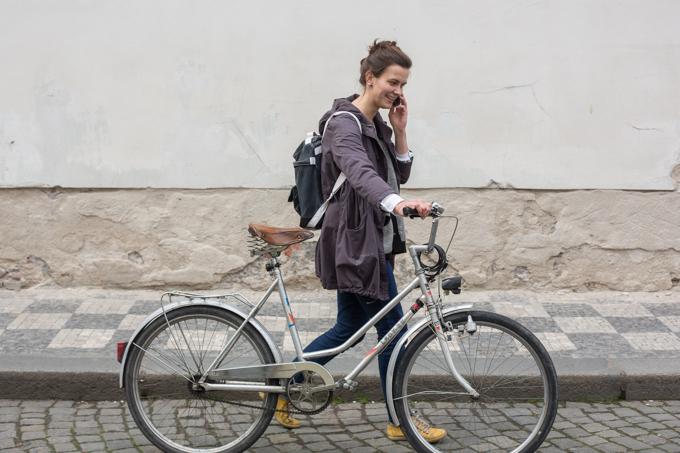 El barrio del Castillo es el más tranquilo de Praga, resulta ideal para las bicicletas.