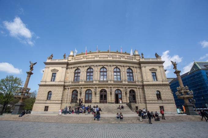 Filarmónica de Praga.