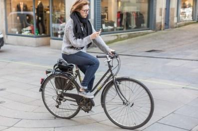 En Nantes, montar en bicicleta es seguro.