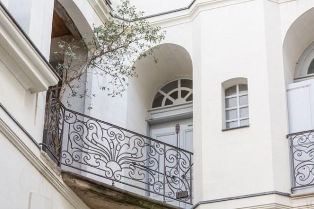 Balcones con forjas originales.